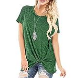 Camiseta para Mujer Camisa de Manga Corta de Verano Blusa Suelta Casual Camisa de Verano Casual Manga Corta Camiseta Tops Blusa,D,M