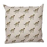 Eideo Home Zierkissen CHIC Safari - GEPARDE, Polyester, 45 cm