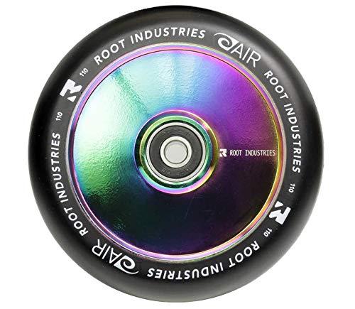 Root Industries Air 110 mm hulajnoga wyczynowa + naklejka Fantic26 (nechrome/czarna (Pu))