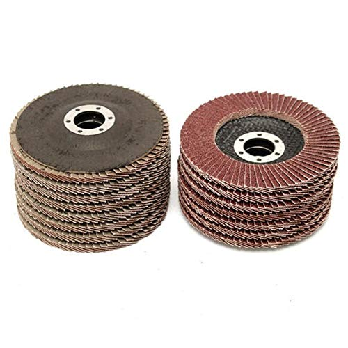 Buy Bargain Multitool Sanding Kits 15pcs 115mm 40 60 80 Grit Sanding Flap Discs Grinding Wheels for ...