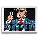 Yanghl トランプ Trump2020 アートパネル フォトフレーム フレーム装飾画 アートポスター アートボード アートポスター インテリア 装飾画 壁掛け おしゃれ 部屋飾り キャンバス Arts モダン 木枠セット