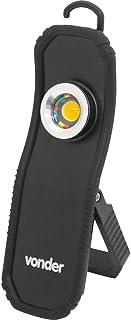 Lanterna recarregável de inspeção, 5W LED CRI 95, bivolt, Vonder