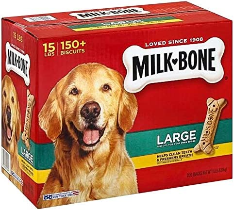 Milk Bone Dog Biscuits Large 15 lbs pack of 2 product image