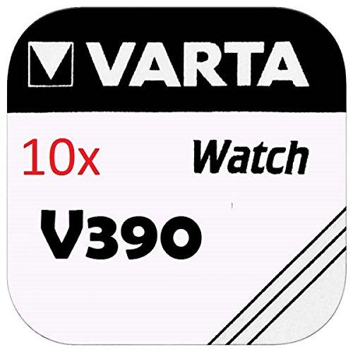 VARTA KNOPFZELLEN 390 SR1130SW (10 Stück, V390)
