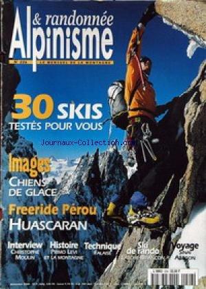 ALPINISME ET RANDONNEE [No 226] du 01/11/2000 - 30...
