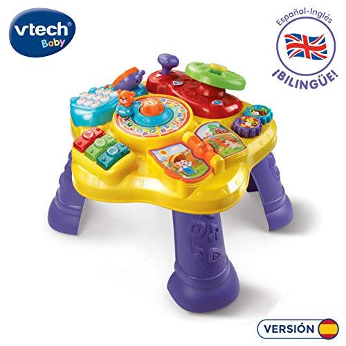 VTech- Mesita Infantil Estrella Bilingüe, (3480-181567)