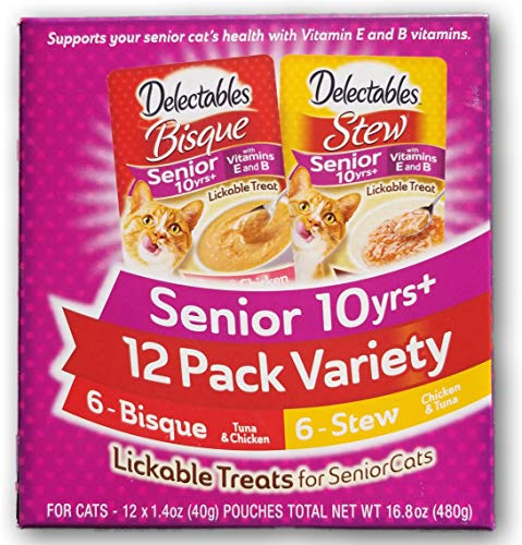Delectables Senior 10 Years+ Variety Pack