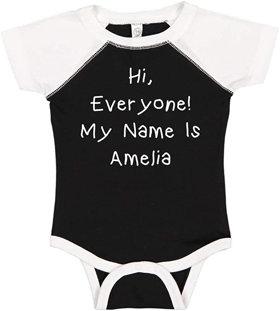 My Name is Jayden Personalized Name Baby Cotton Sleeper Gown Mashed Clothing Hi Everyone