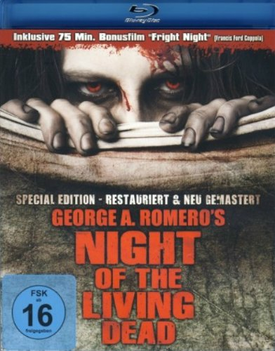 George A. Romero's - Night of the living dead (Blu-Ray) [Alemania] [DVD]