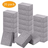 Elaziy Grill Stone Cleaning Block Ecological Pumice Stones Odorless Grilling Cleaning Brick De-Scaling BBQ Block for Removing Rust and Grease