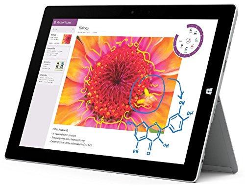 Microsoft Surface 3 Tablet (10.8-Inch, 128 GB, Intel Atom, Windows 10 PRO)