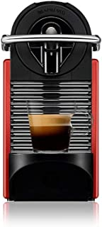 Nespresso Pixie Vermelho Carmine, Cafeteira, 220V