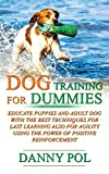 Dog training for dummies: Educate puppies and adult dog with the best techniques for last learning also for agility using the power of positive reinforcement - Danny Pol