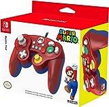 Prodotto con licenza ufficiale Nintendo Controller in pieno stile Gamecube, perfetto per Super Smash Bros. Layout pulsanti ottimizzato per Switch e funzionalità Turbo Si connette direttamente alla console tramite USB