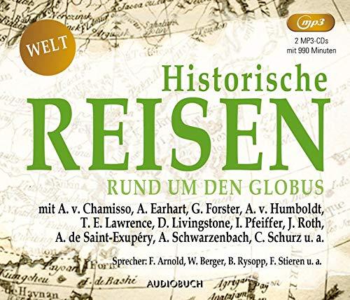Historische Reisen - rund um den Globus