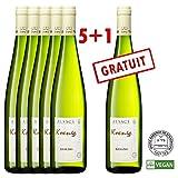 Vin blanc Koenig Riesling AOC Alsace Casher Vegan - 6 bouteilles 75 cl