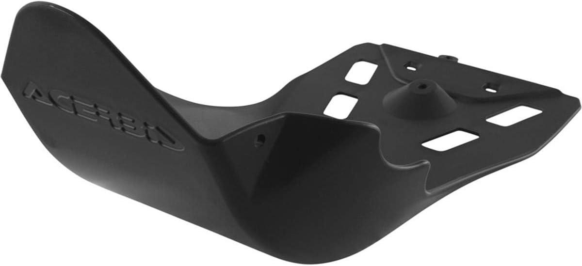 Acerbis 5 ☆ popular 2125680001 Skid Plates BLACK Ultra-Cheap Deals