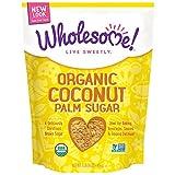 Wholesome Sweeteners, Inc., Organic Coconut Palm Sugar, 16 oz - 2 Pack