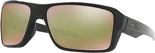 Kính mắt cao cấp nam – Men's OO9380 Double Edge Rectangular Sunglasses, Polished Black/24K Iridium, 66 mm