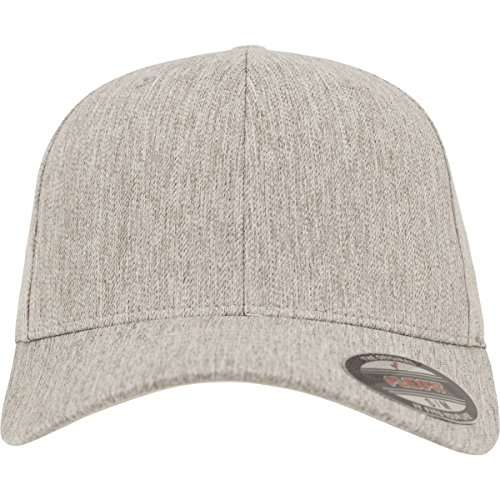 Flexfit Pastel Melange Caps, supergrey, XXL