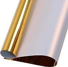 Dritz Tissu Doux Troupeau Lettres et Chiffres thermocollants Truelle Collegiate-Gold
