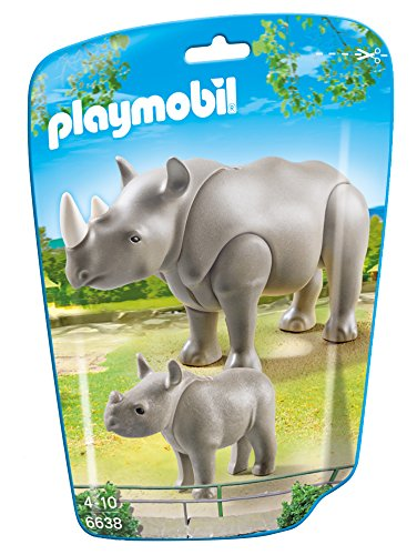 Playmobil 6638 - Nashorn mit Baby