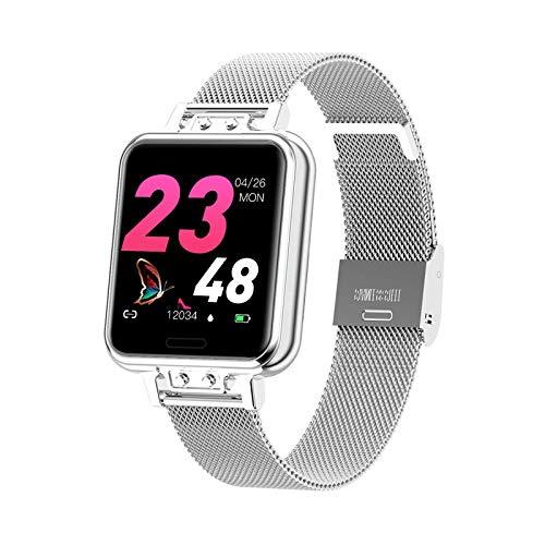 L'orologio intelligente da 1,22 pollici monitora la frequenza cardiaca, la pressione sanguigna, il ciclo fisiologico femminile