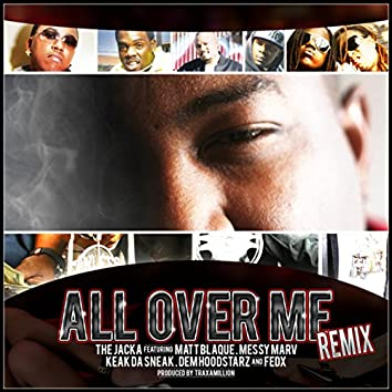 All Over Me Remix - Single
