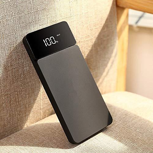 PIANYIHUO Banca di poterePowerbank Sottile da 10000 mAh 2.1A 2 USB Powerbank con Display Batteria Esterna Caricabatteria per Telefono Portatile per Xiaomi Mi iPhone | Power Bank