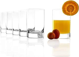 Stölzle Lausitz Gläser 290ml I Wassergläser der Serie New York Bar I 6er Gläser-Set spülmaschinenfest I Große Saftgläser I Trinkgläser aus bleifreiem Kristallglas I hochwertige Qualität