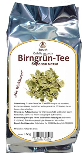 Birngrün - (Orthilia secunda, Nickendes Wintergrün, Einseitswendiges Wintergrün) - 50g