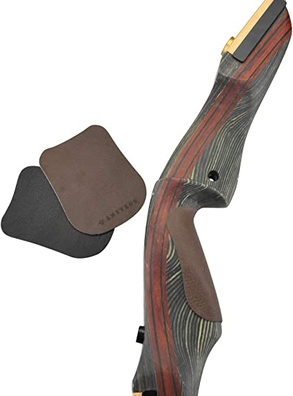 amololo Premium Quality Longbow Rubber Bow Tip Protector Recurve Bow Limb Tip Protector