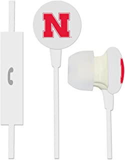 US Digital NCAA Nebraska Cornhuskers Blast Earbud Headphones