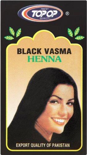 Heena Mendi Top-op Black 100g