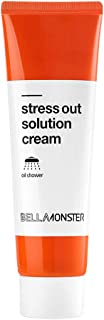 [BELLAMONSTER] Stress Out Solution Cream 1.35 fl.oz. (40ml) - Vitamin A Carrot Seed Oil & Centella Asiatica Extract Skin Soothing & Moisturizing Cream, Repairs Damaged & Rough Skin