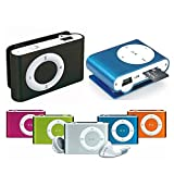 takestop Mini Lettore MP3 Player YF Clip USB Supporta 32GB Micro SD FM Radio Batteria...