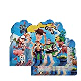 20 pcs Toy Story Birthday Party Invitations,Toy Story Party Supplies for Kids
