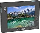 fotopuzzle.de Puzzle 1000 Teile Spiegelungen der Zugspitze im türkisfarbenen Eibsee, Garmisch-Partenkirchen, Bayern, Deutschland