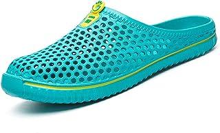 BOLOG Mules et Sabots Chaussures Jardin Sandales Piscine Sandales Plage Respirante haussures Jardinage Le Chaussures d'été...