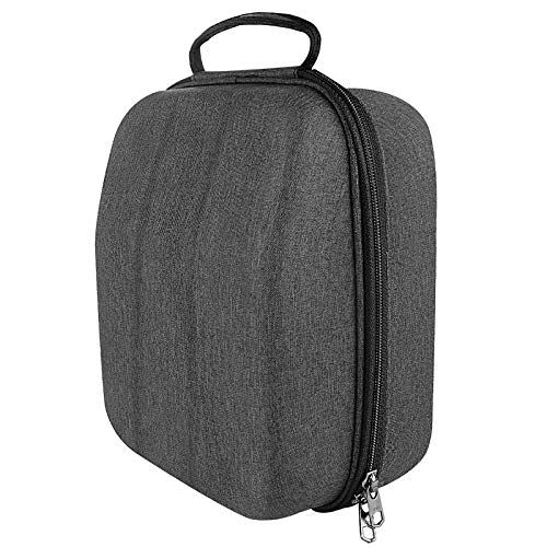 Geekria UltraShell Case for Large-Sized Over-Ear Headphones, Replacement Protective Hard Shell Travel Carrying Bag with Cable Storage, Compatible with Beyërdynamic DT 880 Pro, AKG K167 (Drak Grey)
