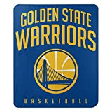 Northwest NBA Golden State Warriors 50x60 Fleece Layup DesignBlanket, Team Colors, One Size (1NBA031020009RET)