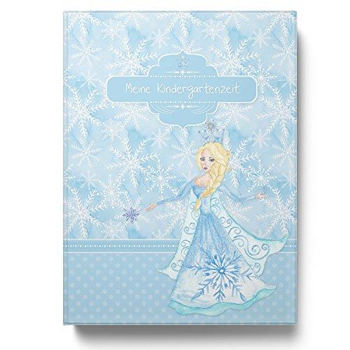 Sammelmappe Meine Kindergartenzeit Eiskönigin Mädchen Geschenkidee Kindergeburtstag (10 Hüllen/20 Seiten A4)