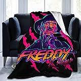 Drew Newton Super Warm All Season Premium Bed Blanket Freddy Krueger StayRad Fleece Throw Sofa Couch Bed 50'x40'