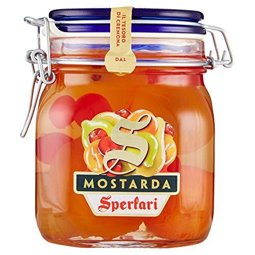 Sperlari - Mostarda Cremonese Di Mista, Vaso Ermetico, Senza Glutine, Frutta, 1000 Grammo