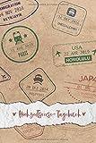 Hochzeitsreise-Tagebuch: Reisetagebuch für die Flitterwochen für die Urlaubsreise zu Zweit zum Ausfüllen | ca. DIN A 5, 108 Seiten, Softcover | inkl. ... | Tolles Geschenk fürs Brautpaar & Ehepartner - Flitterwochen Reisetagebücher