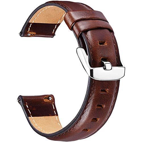 Correa Reloj Vintage Cuero Genuino, Correa Reloj Piel Autentica, Correa Cuero Watch,...