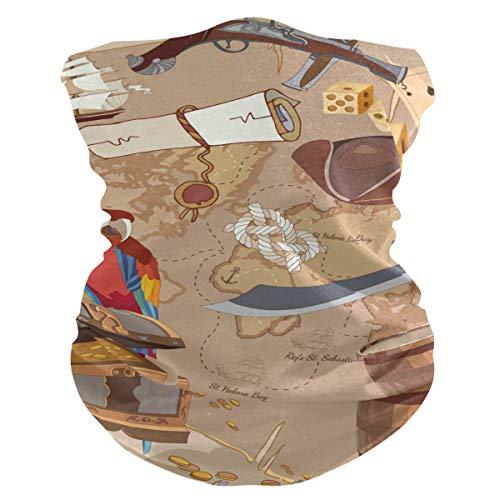 Stoff-Gesichtsmaske für Damen, multifunktional, Bandanas, Schnittmuster, Unisex, Papageien-Motiv, bedruckbar, für Herren und Damen, Kopfbedeckung, Gesichtshandtuch, waschbar, Innentasche