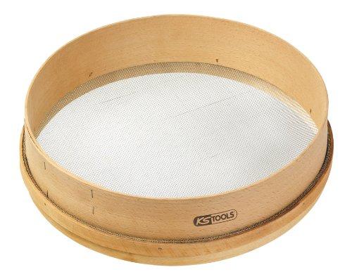 KS Tools 144.0563 Sandsieb Ø 420mm, Holz, Maschenweite 2,3mm