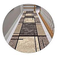 モダンな廊下のカーペット、滑り止めのバスルームのカーペット、ベッドルームエリアのカーペット、ホームダイニングのカーペット、6mmの厚さ、目詰まり、防汚、タフな質感、キッチンのカーペットを避けてください。,140x250cm/55x98.50in