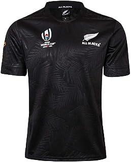 comprar comparacion Rugby Jersey Fan T-Shirts Equipo De Nueva Zelanda Maori All Blacks Hombres Deportes Secado rápido de Manga Corta World Cup...
